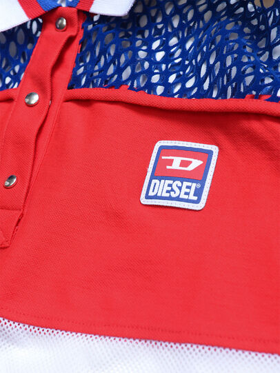 Diesel - TVAITEA, Rojo/Blanco - Camisetas y Tops - Image 3