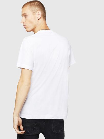 Diesel - T-DIEGO-B16, Blanco - Camisetas - Image 2