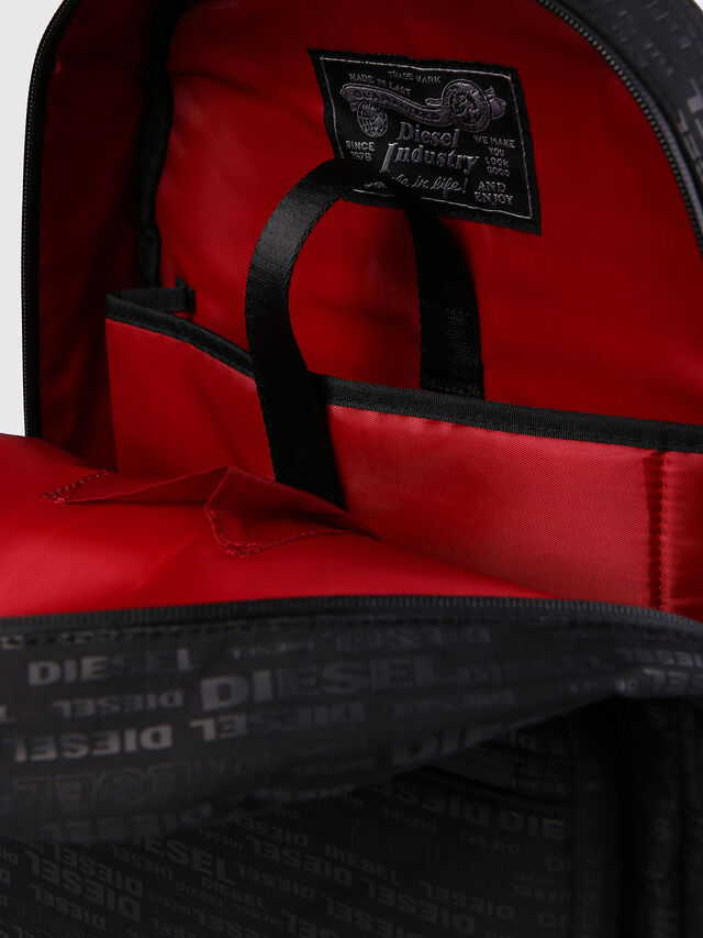 Diesel F-DISCOVER BACK, Negro/ Rojo - Mochilas - Image 6