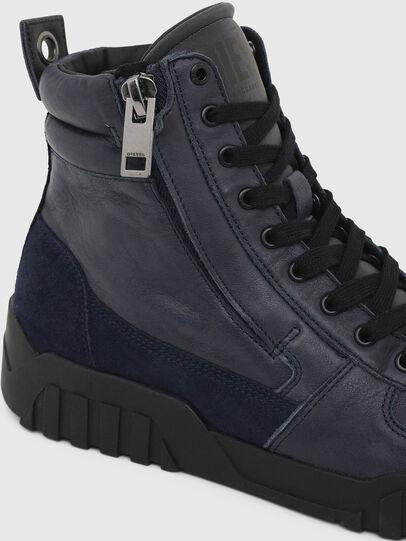 Diesel - S-RUA MID, Azul - Sneakers - Image 6