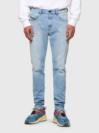 Diesel - D-Strukt JoggJeans® Z69VL, Azul Claro - Vaqueros - Image 1