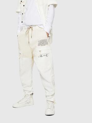 P-LUKK, Blanco - Pantalones