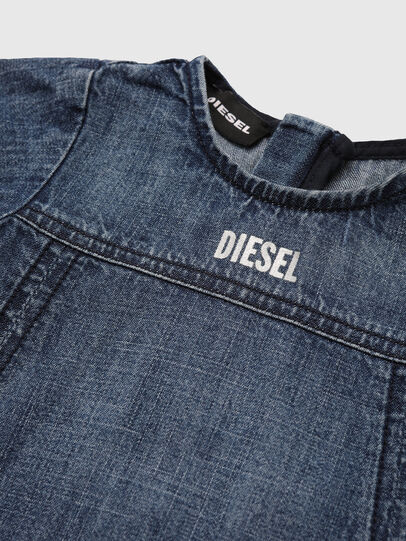 Diesel - DREXIB, Azul medio - Vestidos - Image 3