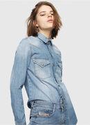 DE-RINGY, Blue Jeans - Camisas de Denim