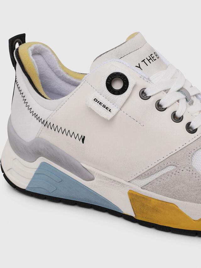 Diesel - S-BRENTHA LC, Blanco - Sneakers - Image 4