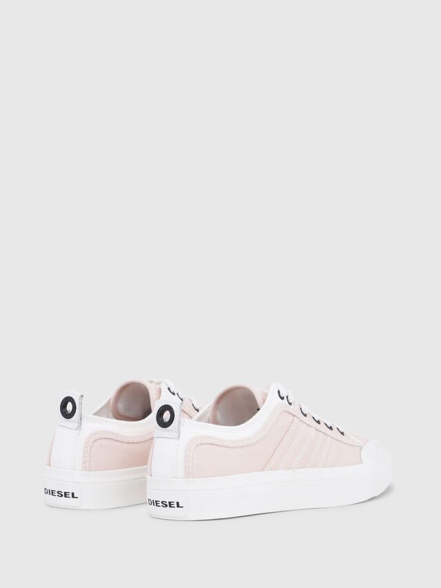 Diesel - S-ASTICO LOW LACE W, Rosa/Blanco - Sneakers - Image 3