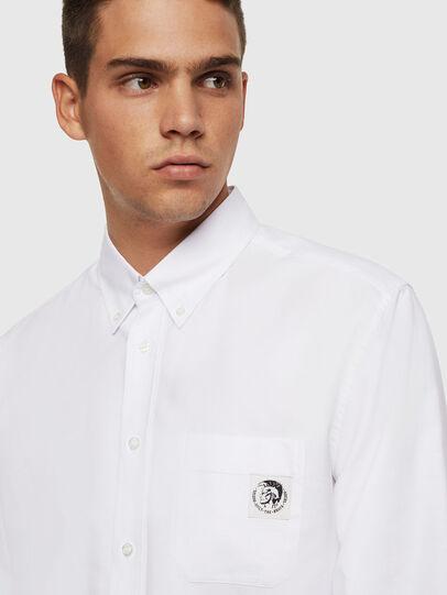 Diesel - S-JAMES, Blanco - Camisas - Image 3