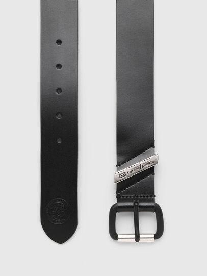 Diesel - B-FLAG, Negro - Cinturones - Image 3