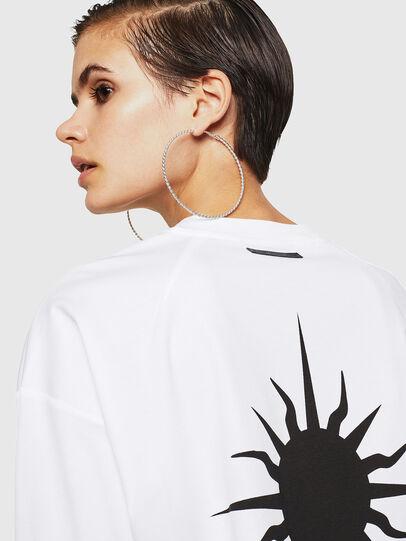 Diesel - TELIX-A, Blanco - Camisetas - Image 3