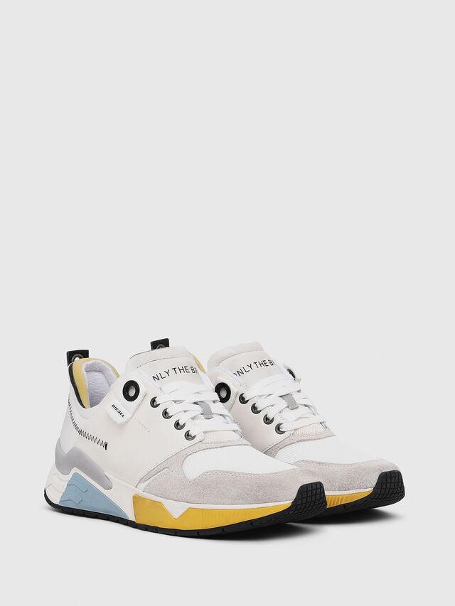 Diesel - S-BRENTHA LC, Blanco - Sneakers - Image 2
