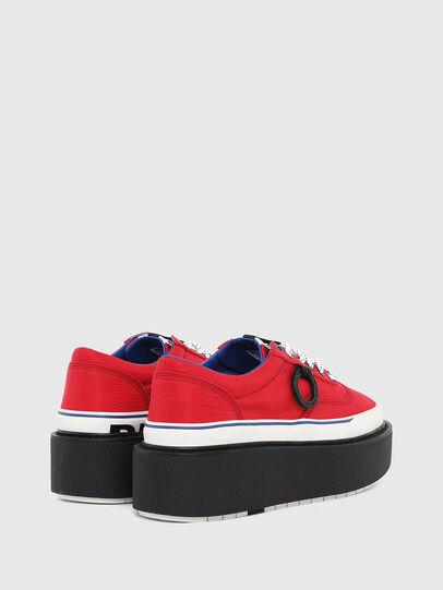 Diesel - H-SCIROCCO LOW, Rojo Fuego - Sneakers - Image 3