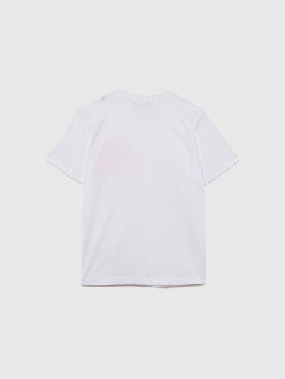 Diesel - TLARS, Blanco/Naranja - Camisetas y Tops - Image 2