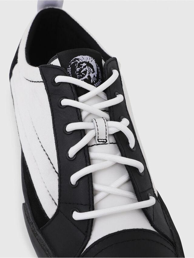 Diesel - D-VELOWS LOW PATCH, Negro/Blanco - Sneakers - Image 4