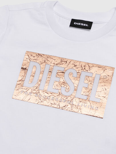 Diesel - TIRRIB-R, Blanco - Camisetas y Tops - Image 3