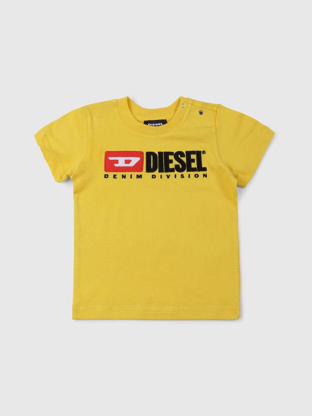 TJUSTDIVISIONB, Amarillo - Camisetas y Tops