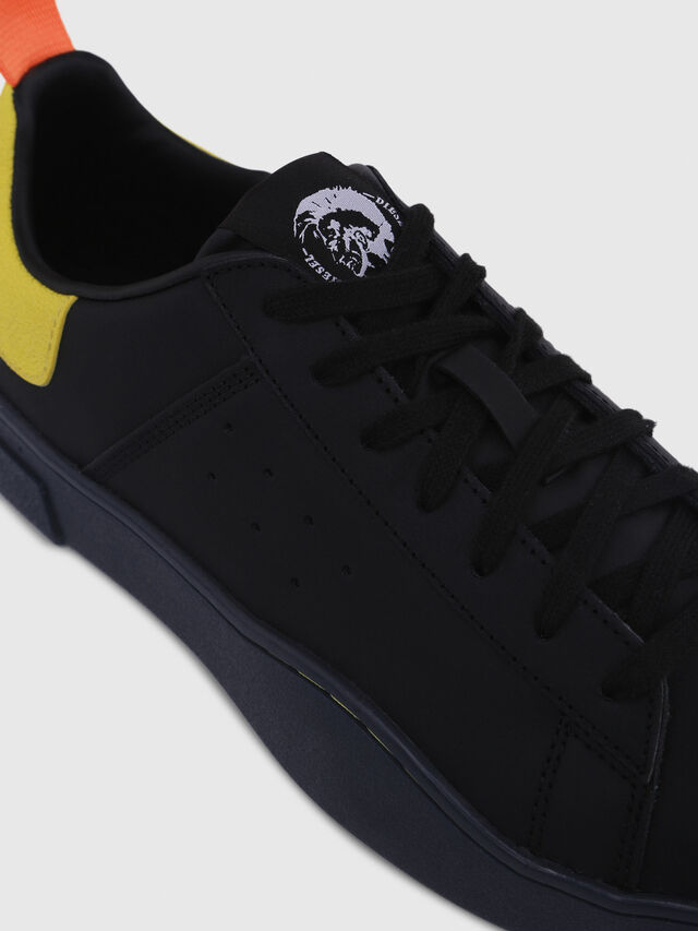 Diesel - S-CLEVER LOW, Negro/Amarillo - Sneakers - Image 4