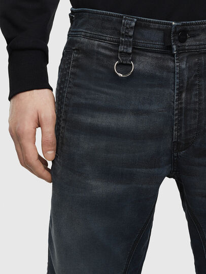 Diesel - D-Earby JoggJeans 069MD, Azul Oscuro - Vaqueros - Image 3