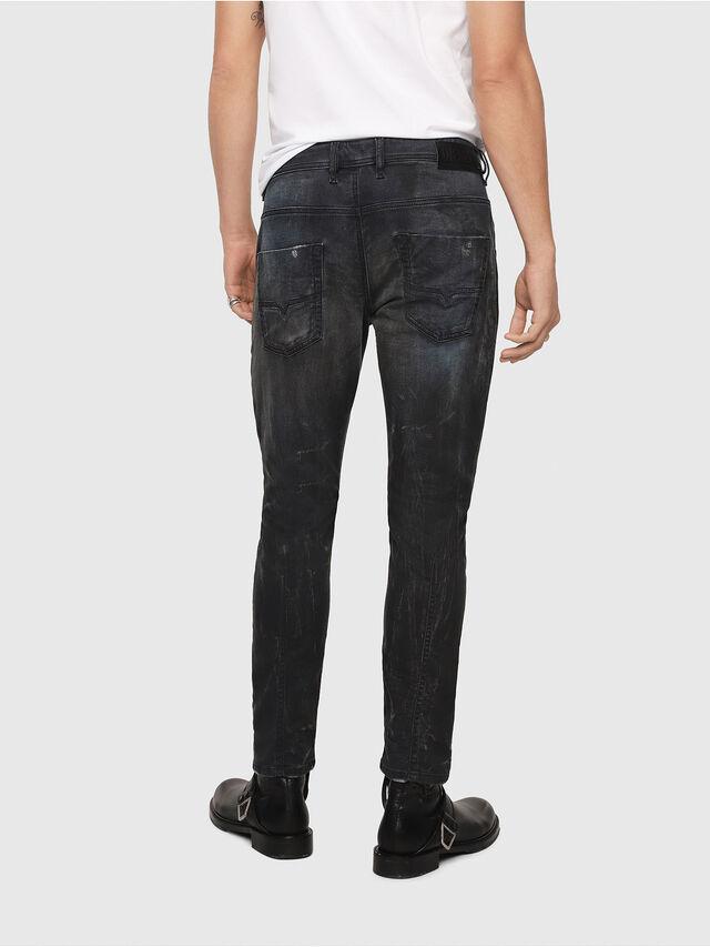 Diesel - Krooley JoggJeans 069IA, Black Jeans - Vaqueros - Image 2