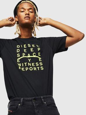 T-JUST-J5, Negro - Camisetas