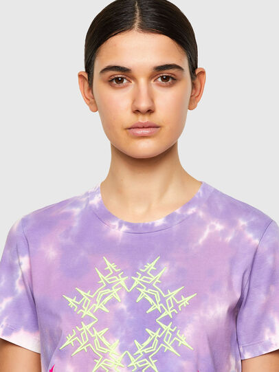 Diesel - T-SILY-A12, Lila - Camisetas - Image 4