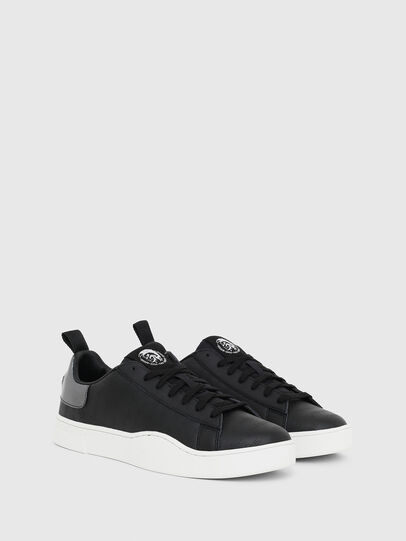 Diesel - S-CLEVER LOW LACE, Negro/Plata - Sneakers - Image 2