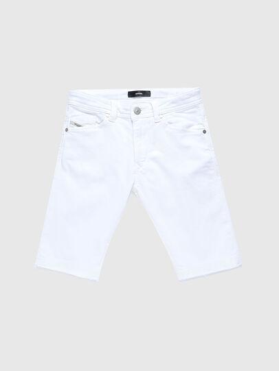 Diesel - DARRON-R-J SH-N JOGGJEANS, Blanco - Shorts - Image 1