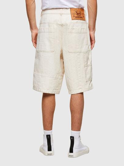 Diesel - D-FRANS-SP1, Blanco - Shorts - Image 2