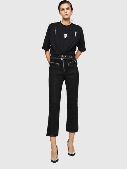 Diesel - TELIX-A, Negro - Camisetas - Image 5