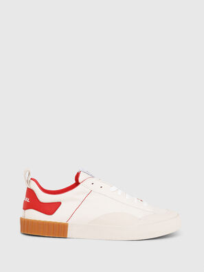 S-BULLY LC, Blanco/Rojo - Sneakers