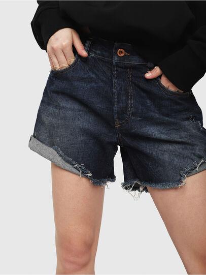 Diesel - DE-LOWY, Azul medio - Shorts - Image 3