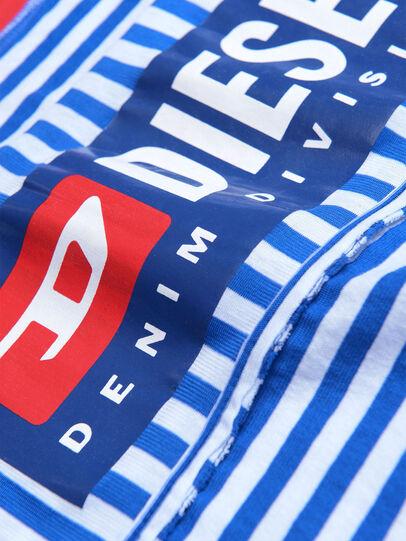 Diesel - TJVANE, Azul/Blanco - Camisetas y Tops - Image 3