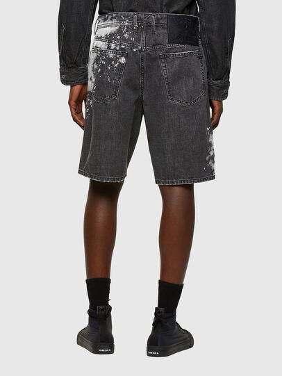 Diesel - D-WILLOH-X-SP, Negro - Shorts - Image 2
