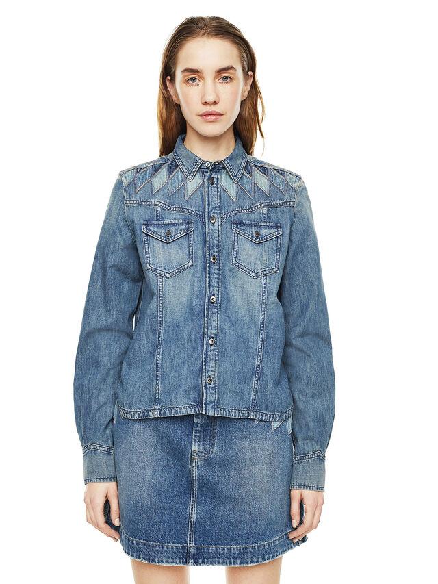 Diesel - CALLYVAN, Blue Jeans - Camisas - Image 1
