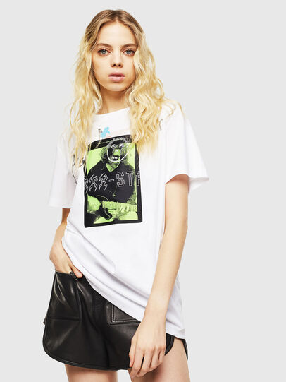 Diesel - T-DARIA-Y, Blanco - Camisetas - Image 1