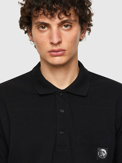 Diesel - T-POLO-WORKY, Negro - Polos - Image 3