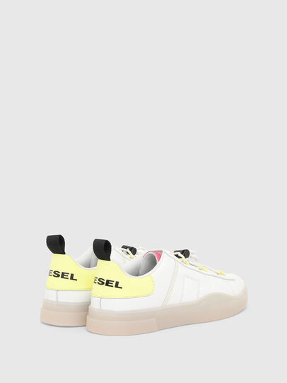 Diesel - S-CLEVER SO C, Blanco/Amarillo - Sneakers - Image 3