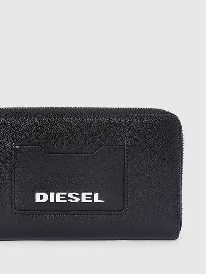 Diesel - GRANATO LC, Negro - Carteras Con Cremallera - Image 4