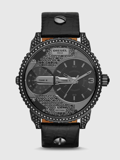 Diesel - DZ7328 MINI DADDY, Negro - Relojes - Image 1
