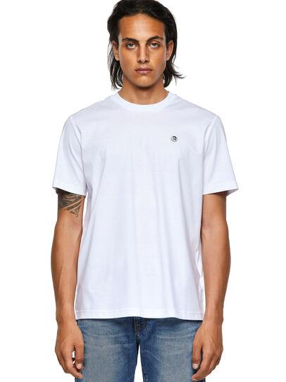Diesel - T-JUST-ROMOHI, Blanco - Camisetas - Image 1