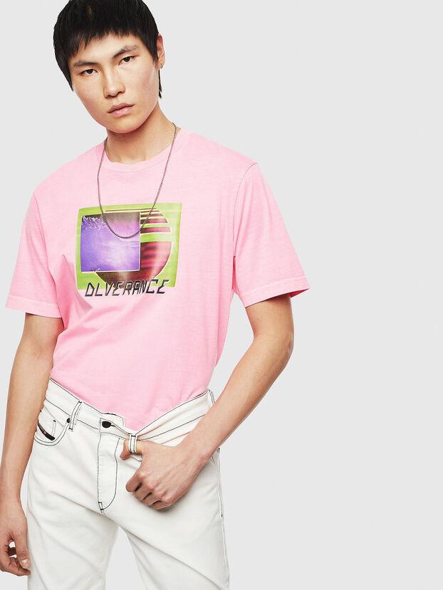T-JUST-NEON-S1, Rosa - Camisetas