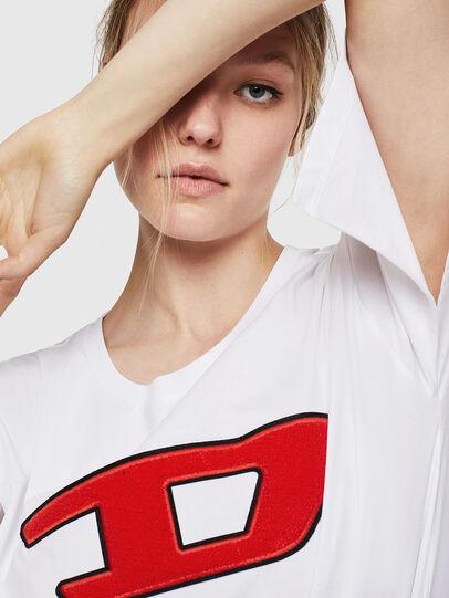 Diesel - T-JACKY-I, Crema - Camisetas - Image 3