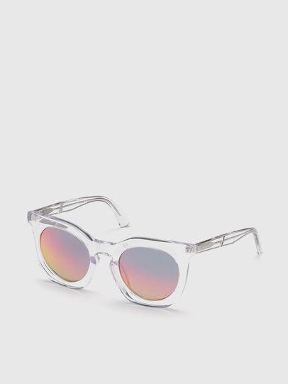 Diesel - DL0283, Blanco - Gafas de sol - Image 2