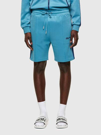 Diesel - P-KURLY, Azul Claro - Shorts - Image 1