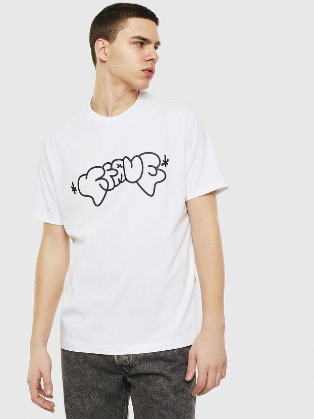 T-JUST-T28, Blanco - Camisetas