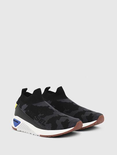 Diesel - S-KB SOCK QB, Negro - Sneakers - Image 2