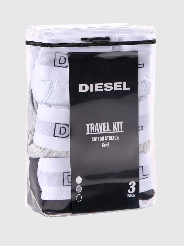Diesel UMBR-ANDRETHREEPACK, Blanco - Slips - Image 2