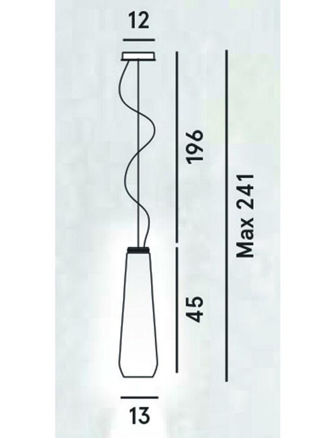 Diesel - GLAS DROP, Gris - Lámparas de Suspensión - Image 2