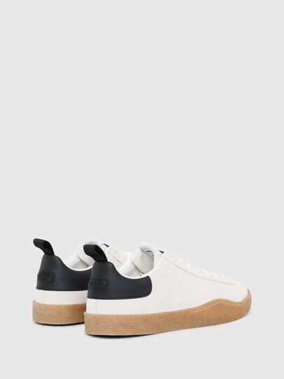Diesel - S-CLEVER PAR LOW, Blanco/Negro - Sneakers - Image 3