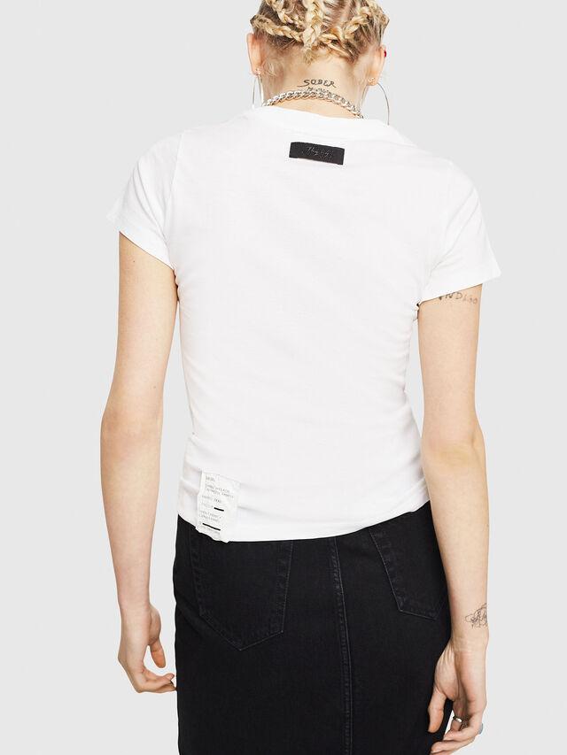 Diesel - T-SUPERY-C, Blanco - Camisetas - Image 2