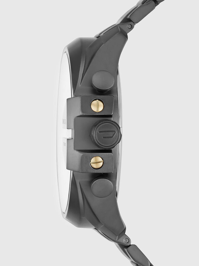 Diesel - DZ4466, Negro Opaco - Relojes - Image 2
